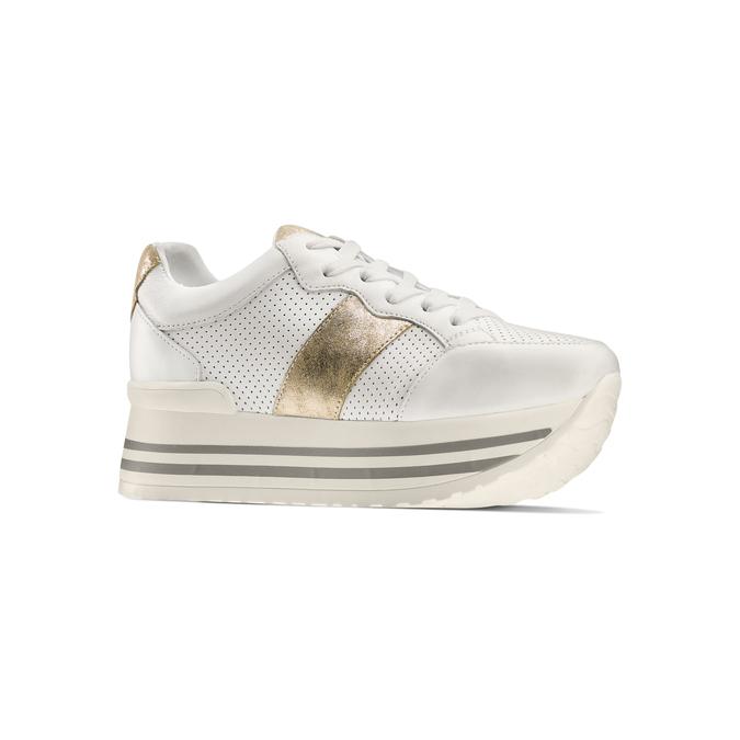 BATA Chaussures Femme bata, Blanc, 644-1111 - 13