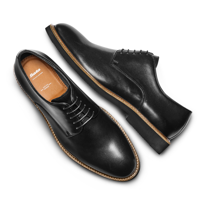 BATA Chaussures Homme bata, Noir, 824-6741 - 26