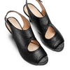 BATA Chaussures Femme bata, Noir, 724-6367 - 26