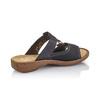 Chaussures Femme rieker, Noir, 661-6195 - 15