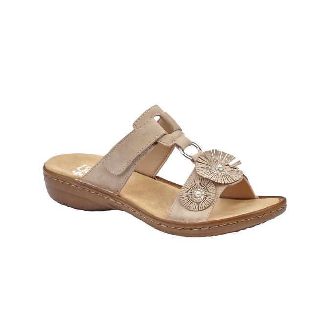 RIEKER Chaussures Femme rieker, Beige, 661-2199 - 13