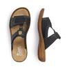 RIEKER Chaussures Femme rieker, Noir, 661-6195 - 16