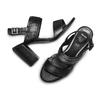 BATA Chaussures Femme bata, Noir, 761-6363 - 26