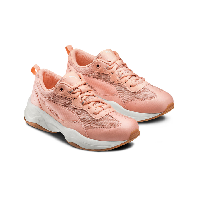 Chaussures Femme puma, Rose, 509-5183 - 16
