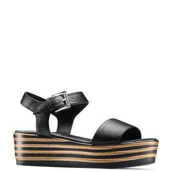 BATA Chaussures Femme bata, Noir, 761-6670 - 13
