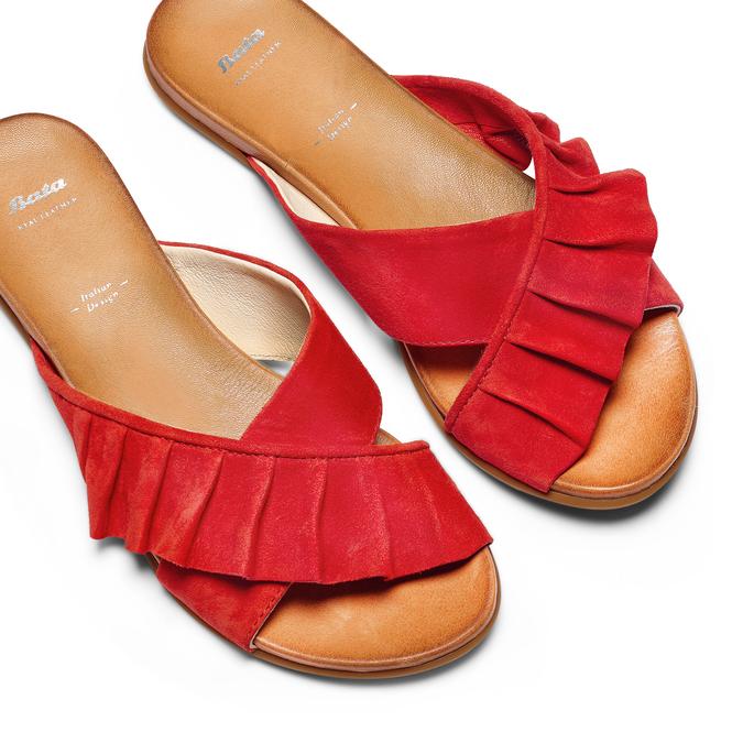 BATA Chaussures Femme bata, Rouge, 563-5391 - 26