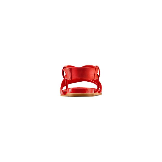 BATA Chaussures Femme bata, Rouge, 564-5443 - 15