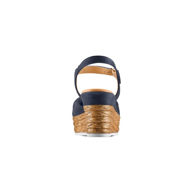 BATA Chaussures Femme bata, Bleu, 763-9591 - 15