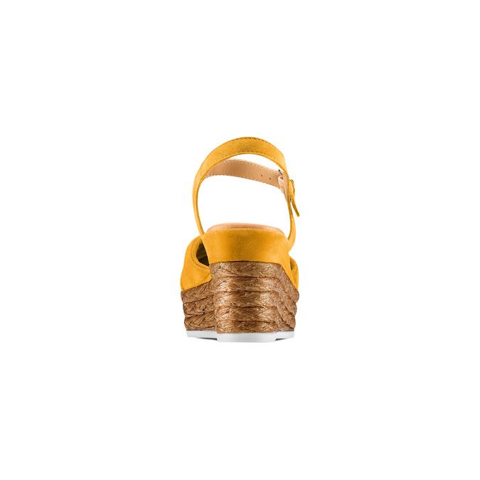 BATA Chaussures Femme bata, Jaune, 763-0591 - 15