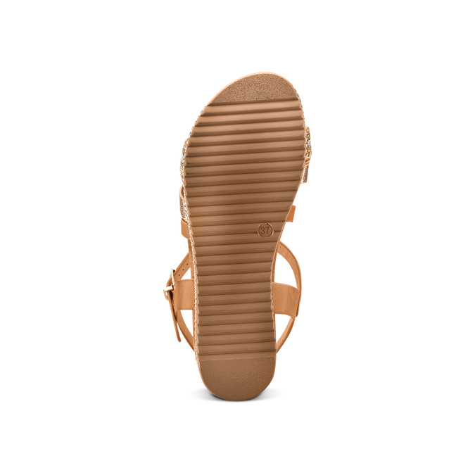 BATA Chaussures Femme bata, Brun, 661-3374 - 19