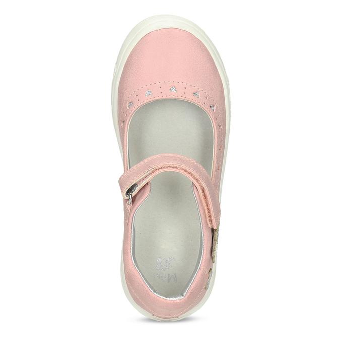 Childrens shoes mini-b, Rouge, 221-5216 - 17