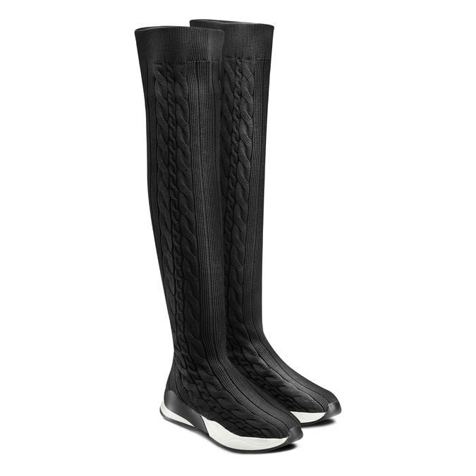 BATA Chaussures Femme bata, Noir, 539-6147 - 16