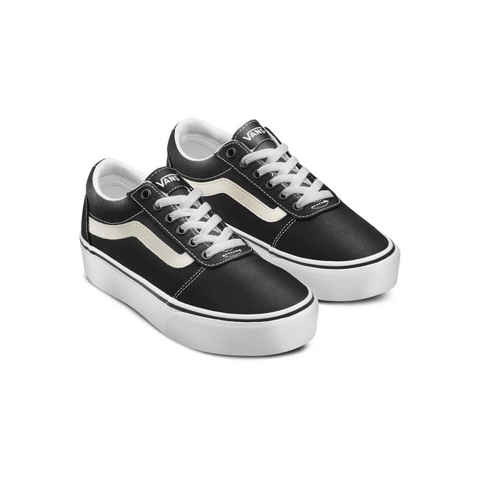 Chaussures Femme vans, Noir, 509-6132 - 16