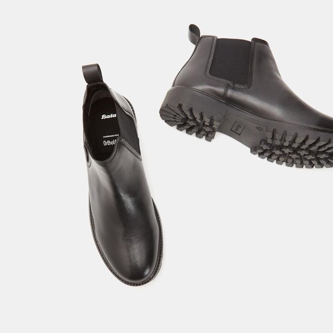 Chaussures Homme bata, Noir, 894-6318 - 19