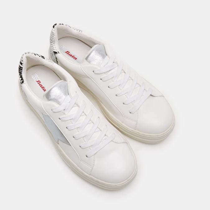 Chaussures Femme bata, Blanc, 541-1559 - 19