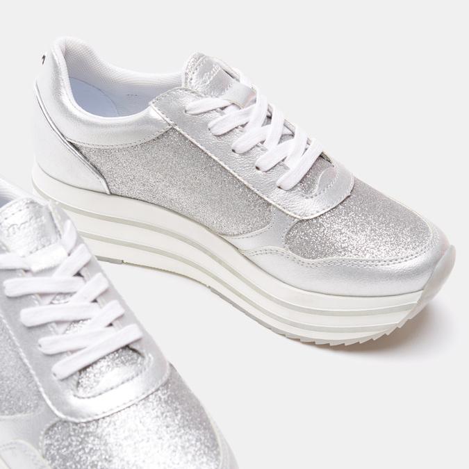 Chaussures Femme bata-light, Argent, 649-1162 - 17