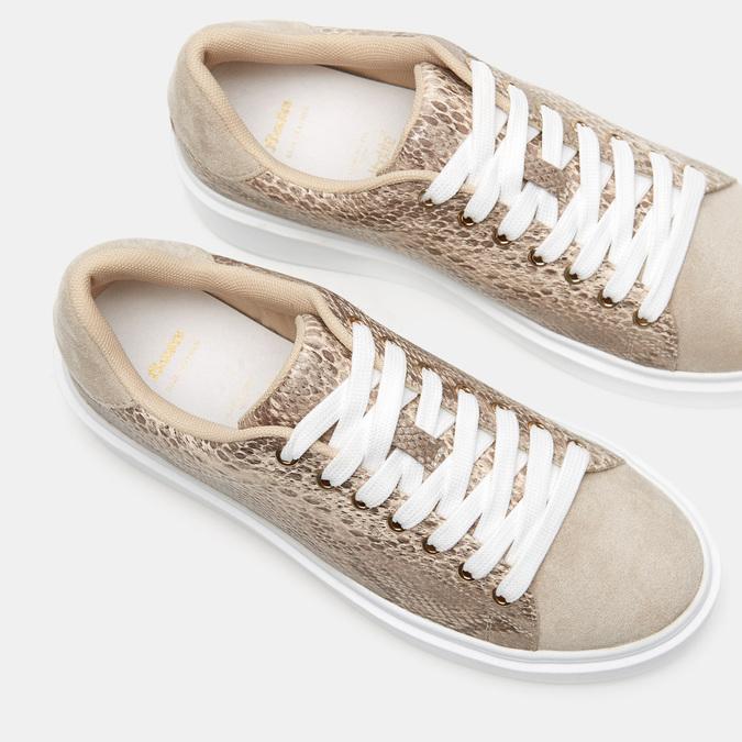 Chaussures Femme bata, Beige, 541-8554 - 17