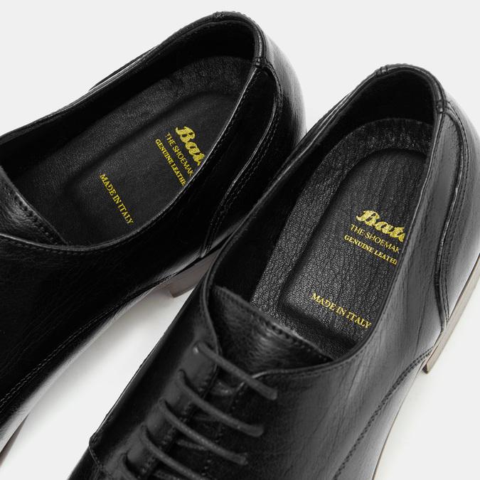 Herren Shuhe bata-the-shoemaker, Schwarz, 824-6259 - 16