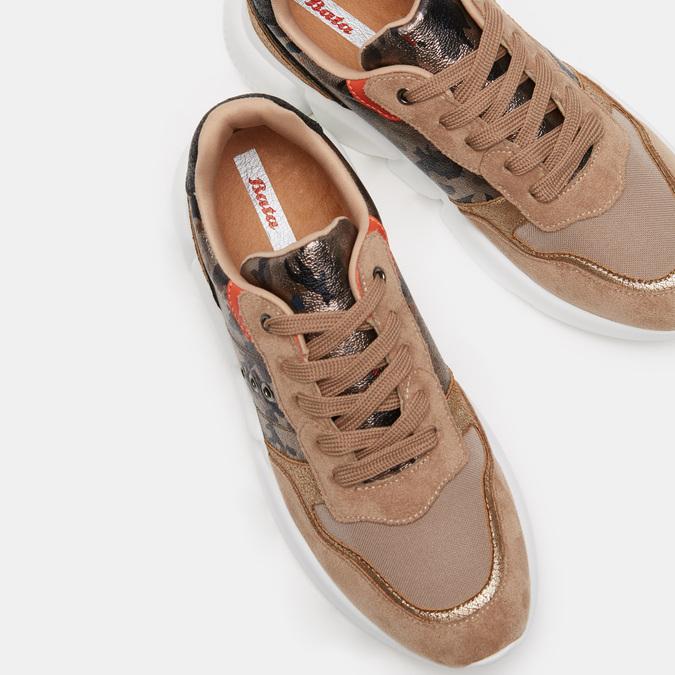 Chaussures Femme bata, Beige, 541-0562 - 15