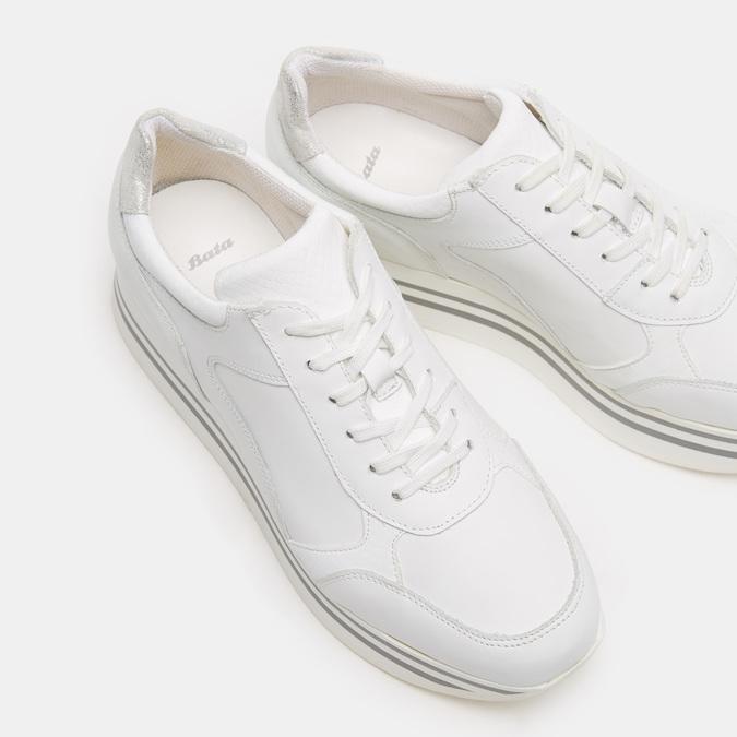 Chaussures Femme bata, Blanc, 644-1154 - 16