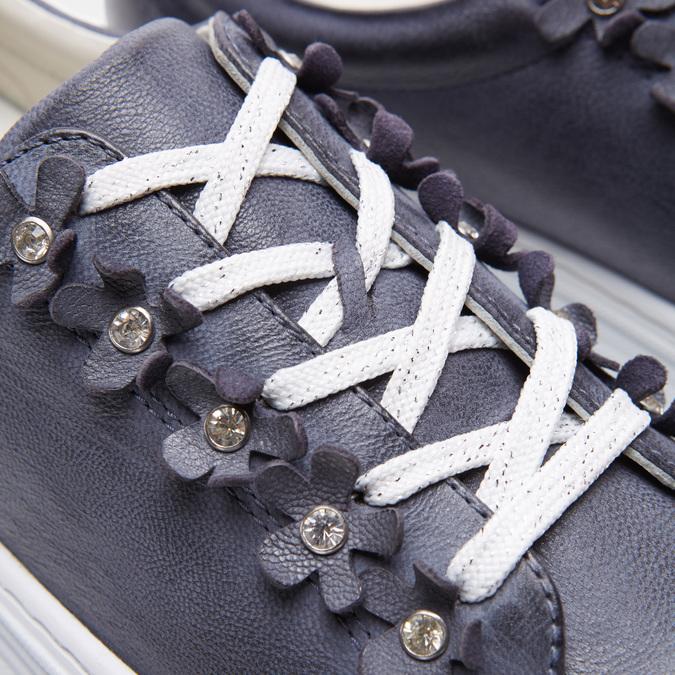 Chaussures Femme bata, Bleu, 544-9548 - 26