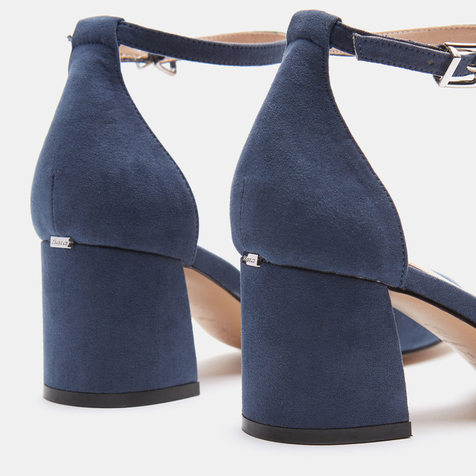 Chaussures Femme insolia, Bleu, 629-9199 - 16