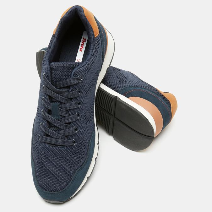 Chaussures Homme bata, Bleu, 849-9880 - 19