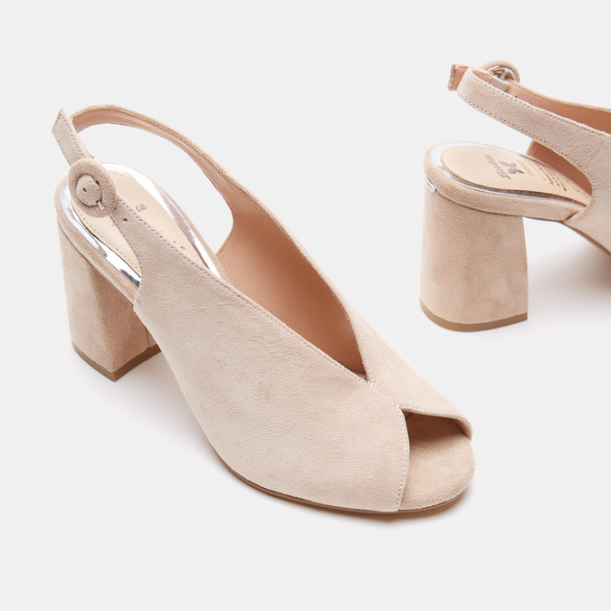 Chaussures Femme insolia, Beige, 763-8394 - 15