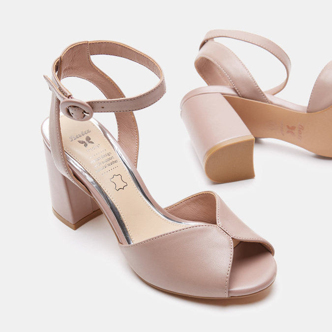 Chaussures Femme insolia, Rose, 764-5405 - 19