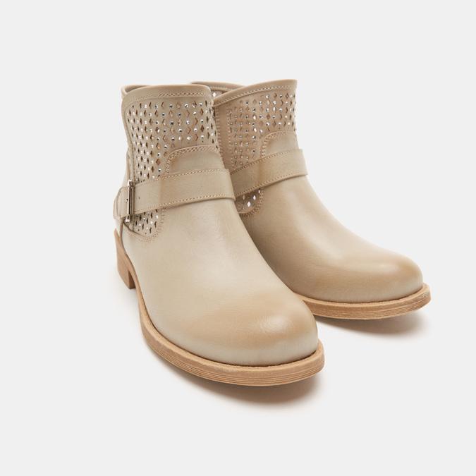 Chaussures Femme bata, Beige, 591-8166 - 16