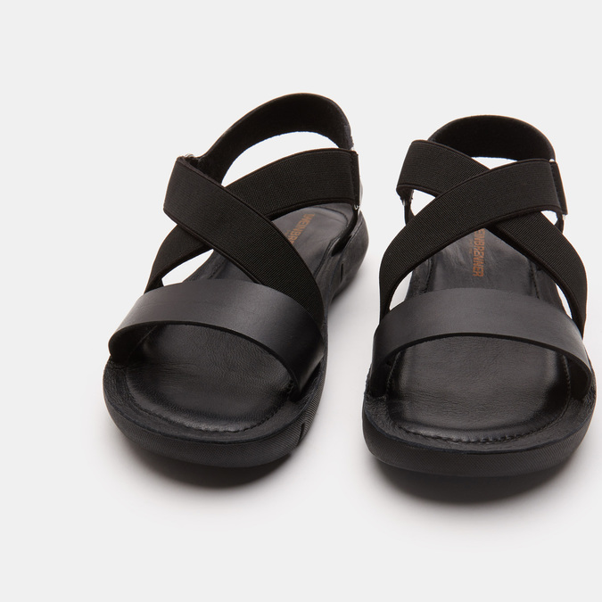 Sandales à bride weinbrenner, Noir, 564-6722 - 15
