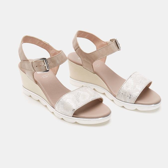 Chaussures Femme bata, Gris, 764-2757 - 15