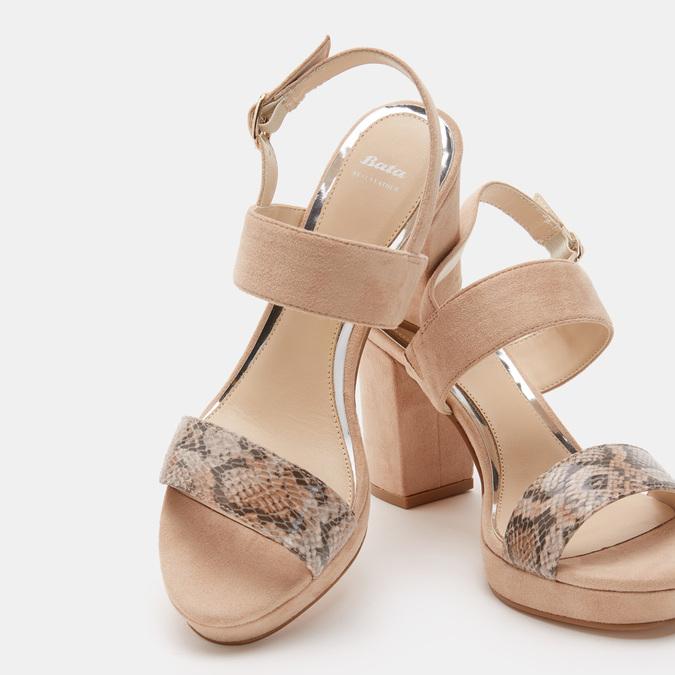 Chaussures Femme bata, Beige, 769-3221 - 16