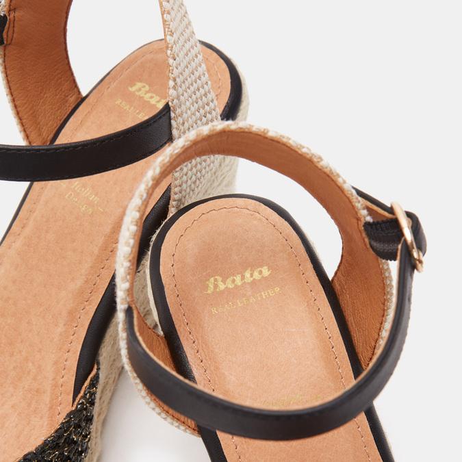 Chaussures Femme bata, Noir, 769-6769 - 16