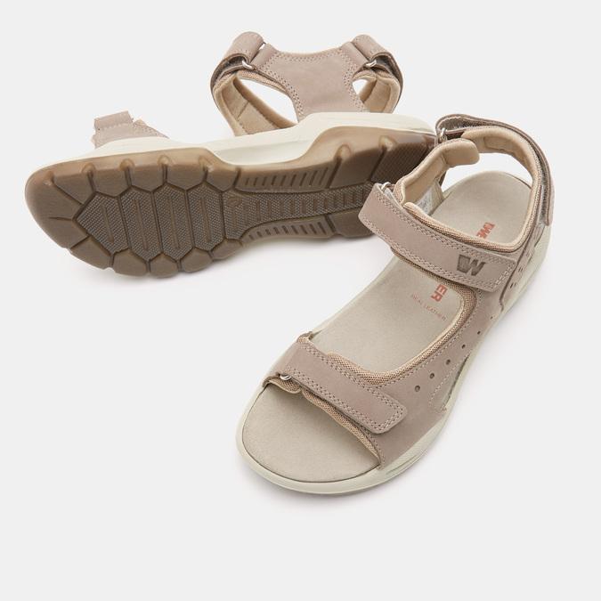 Chaussures Femme weinbrenner, Beige, 566-3723 - 19