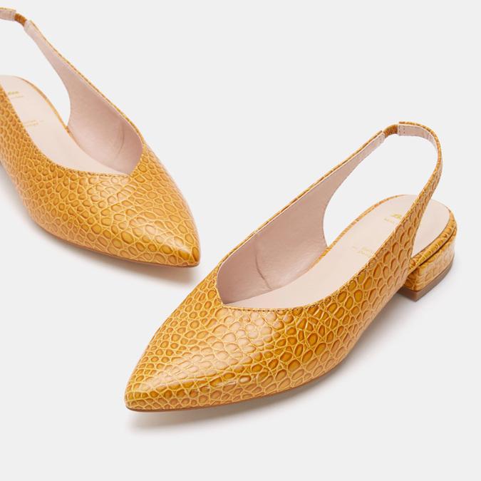 Chaussures Femme bata, Jaune, 534-8171 - 19
