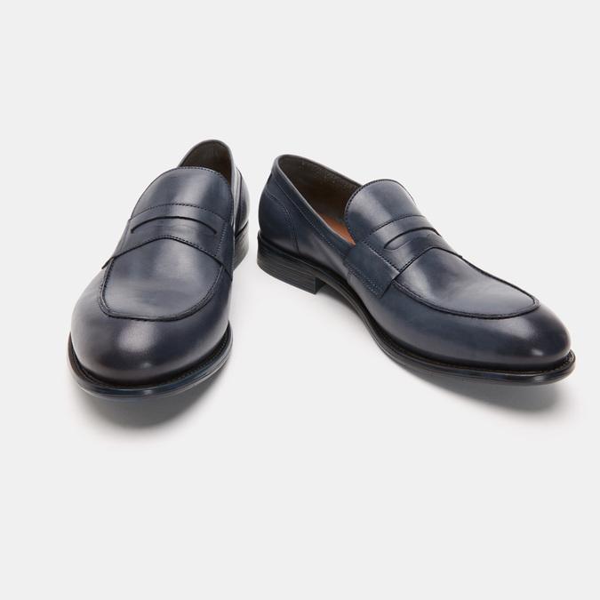 Chaussures Homme bata, Bleu, 814-9145 - 19