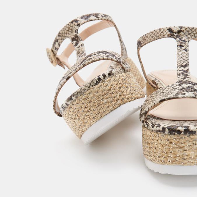 Chaussures Femme bata, Beige, 761-8771 - 17