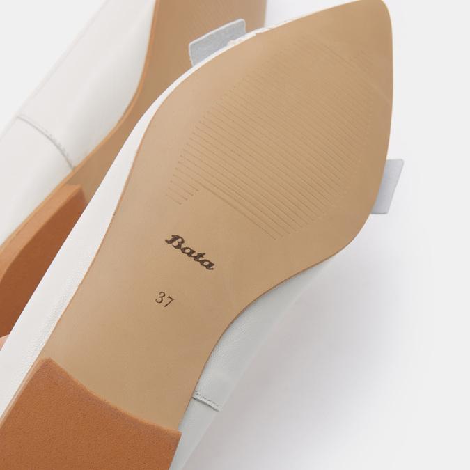 Chaussures Femme bata, Blanc, 524-1381 - 19