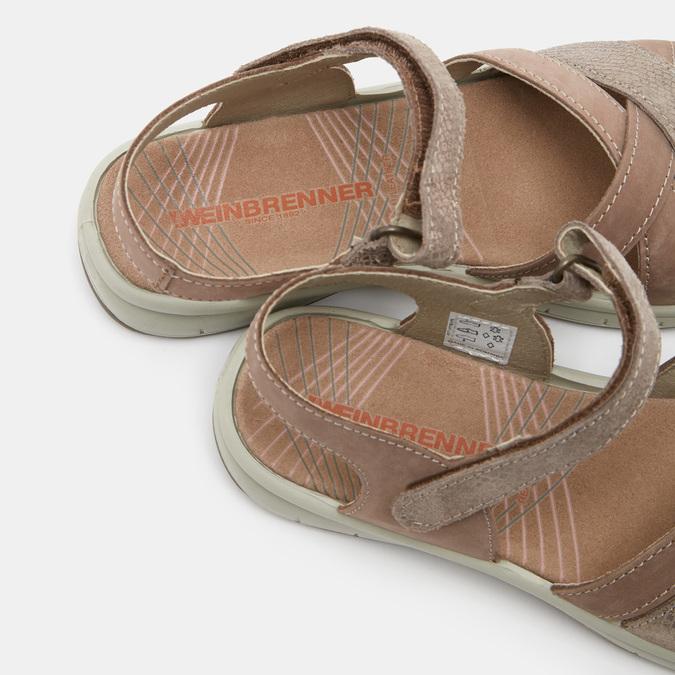 Chaussures Femme weinbrenner, Or, 566-8724 - 19