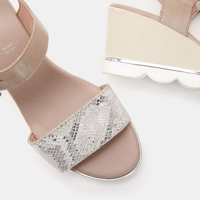 Chaussures Femme bata, Gris, 764-2757 - 17