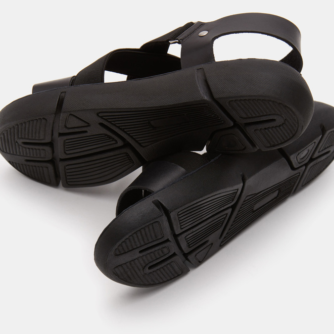 Sandales à bride weinbrenner, Noir, 564-6722 - 19