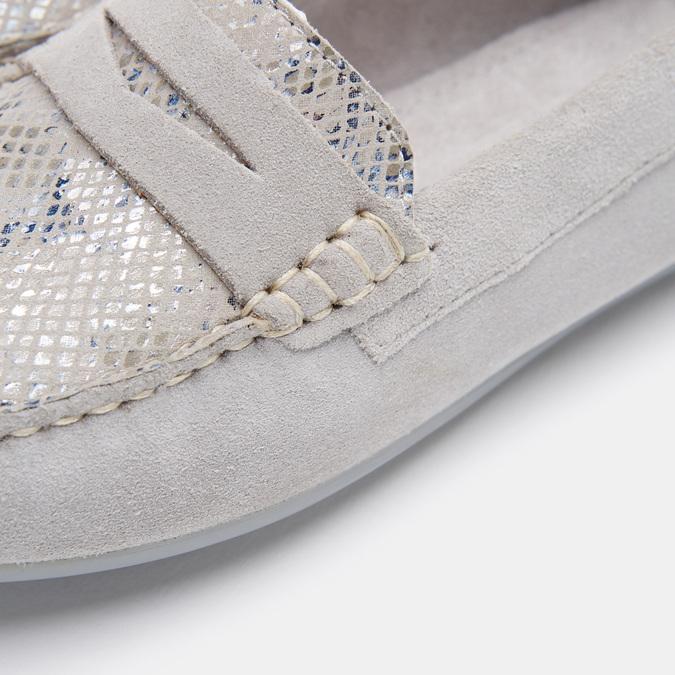 Chaussures Femme bata, Gris, 513-2221 - 26