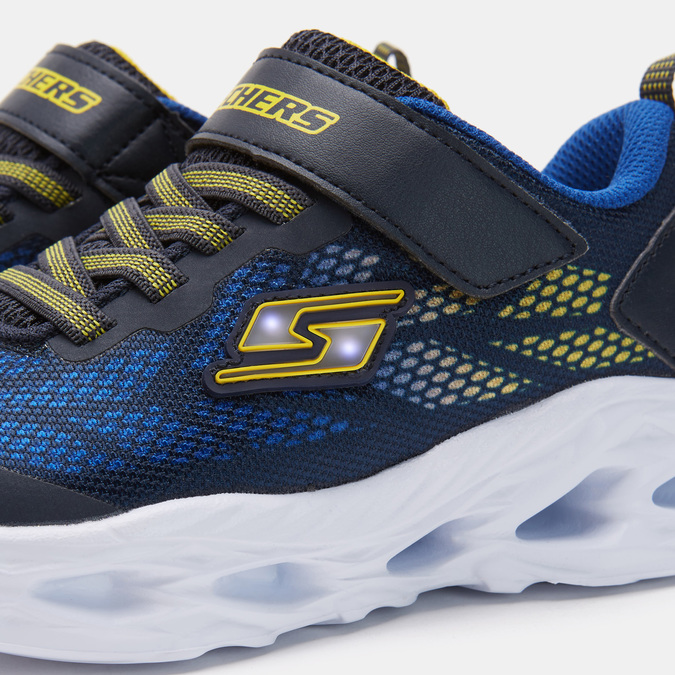 Chaussures Enfant skechers, Bleu, 319-9156 - 26