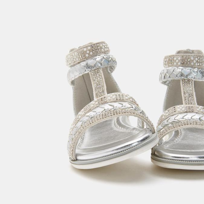 Chaussures Enfant mini-b, Argent, 361-2362 - 19