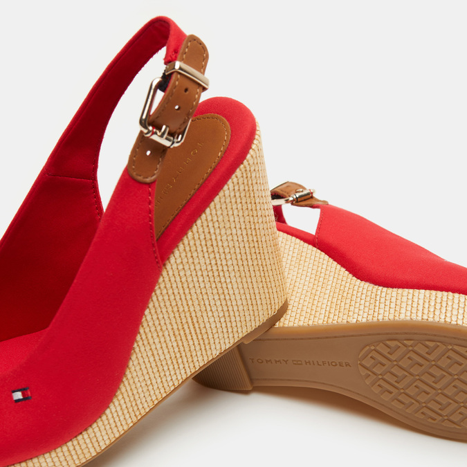Chaussures Femme tommy-hilfiger, Rouge, 769-5365 - 17