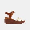 Chaussures Femme bata, Or, 764-8751 - 13