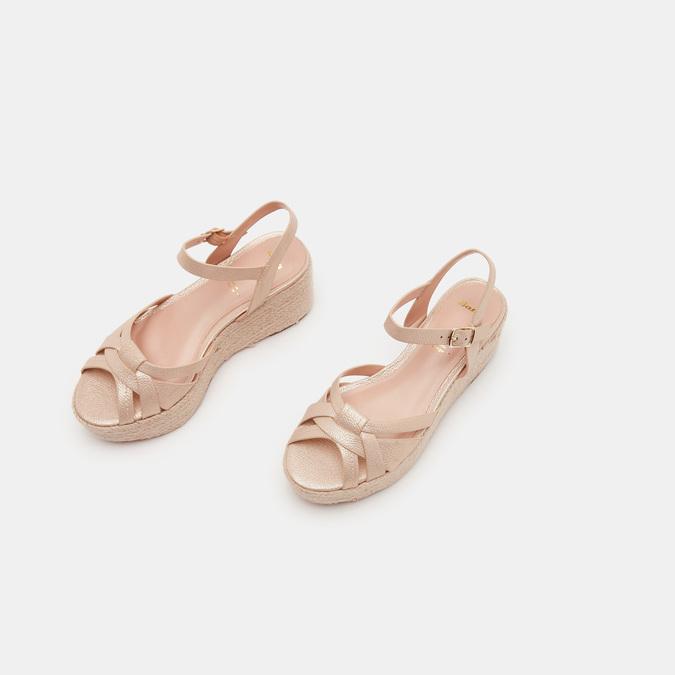 Chaussures Femme bata, Or, 761-8782 - 16