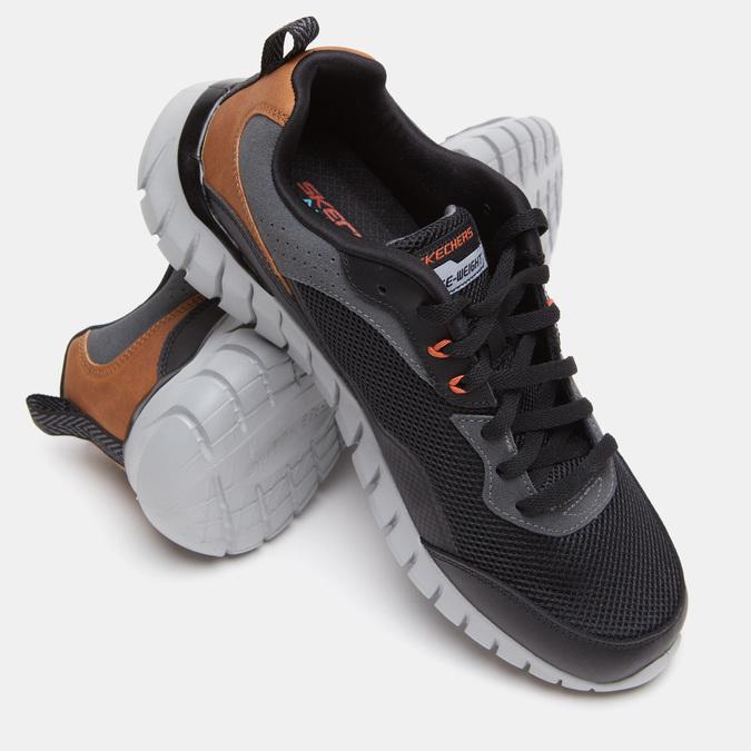 Chaussures Homme skechers, Noir, 801-6132 - 16