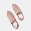Chaussures slip-on à empeigne tricotée avec paillettes bata, Rose, 539-5143 - 17